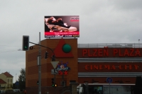 LED screen PLAZA